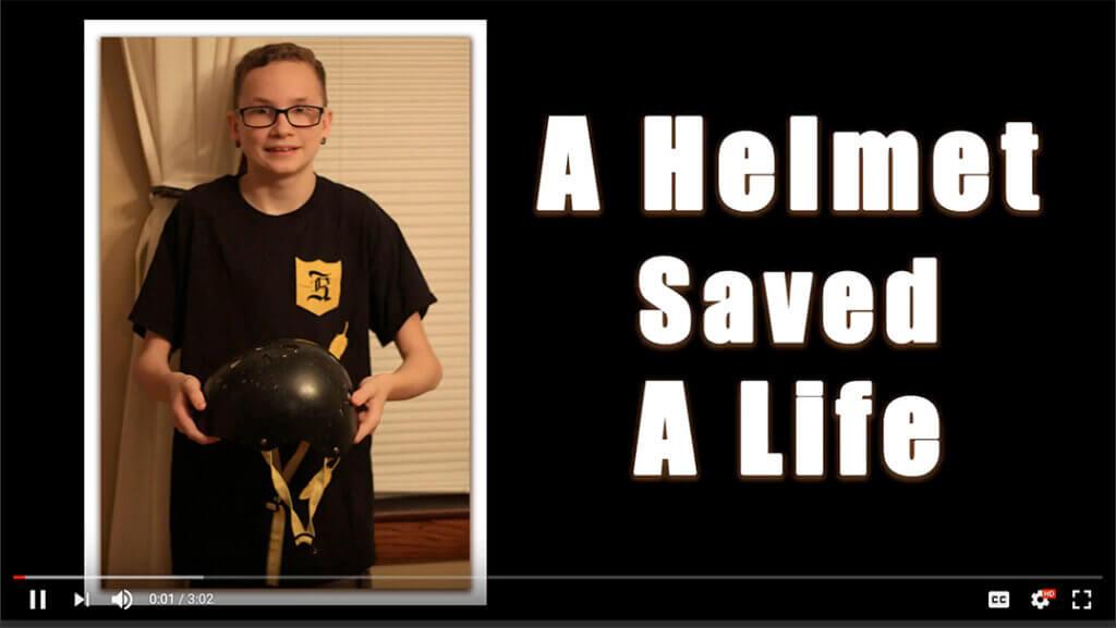 Cameron Helmet Video