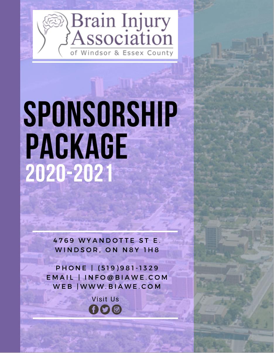 BIAWE sponsorship package